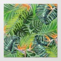 Jungle Tangle Paradise  Canvas Print