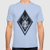 Diamante Mens Fitted Tee Athletic Blue SMALL