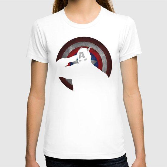 SuperHeroes Shadows : Captain America T-shirt