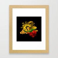 Beheaded with Flowers Framed Art Print