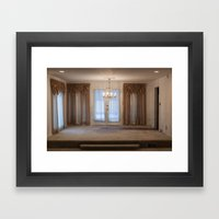 Formal Framed Art Print