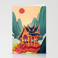 Air Temple Stationery Cards