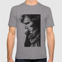 Sherly Mens Fitted Tee Athletic Grey SMALL
