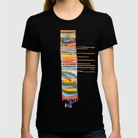 Love In The Year Of The … Womens Fitted Tee Black SMALL