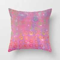 COMPLIMENTARY LOVE Throw Pillow