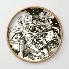 Music Jam Wall Clock