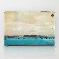 Blue Field iPad Case