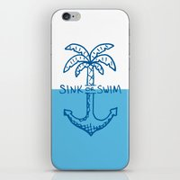 Sink Or Swim iPhone & iPod Skin