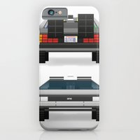 iPhone & iPod Case featuring DMC: The Time Machine by antastic