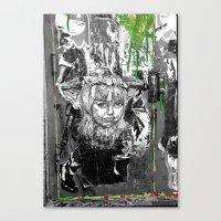 Lock n Key Canvas Print