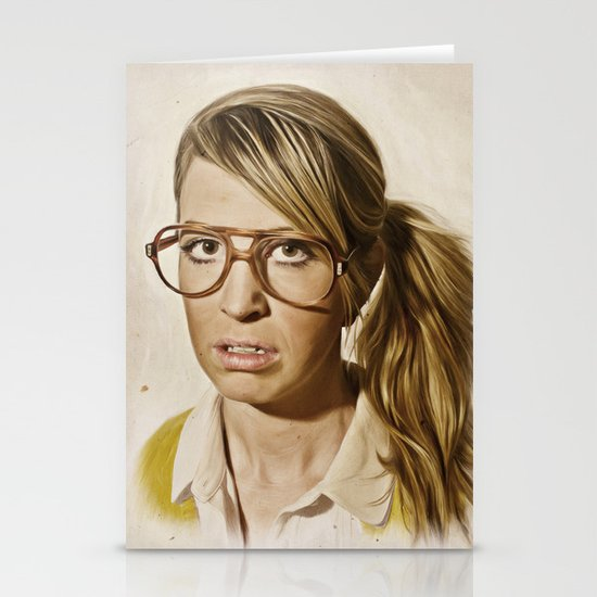 i.am.nerd. : Lizzy Stationery Card