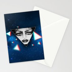 dimensional snap Stationery Cards
