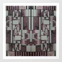 FX#509 - The Faded Geometric Art Print