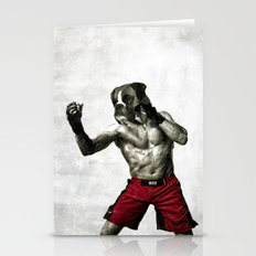 Boxer. The Boxer Fighter… Stationery Cards