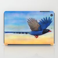 Taiwan Blue Magpies (2) iPad Case