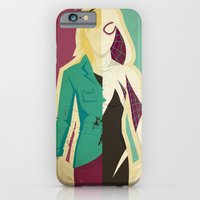 iPhone Cases featuring Spider Gwen by Danny Haas