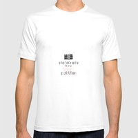Photography Is My Secret… Mens Fitted Tee White SMALL