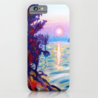 Gold Island Sunset  iPhone 6 Slim Case