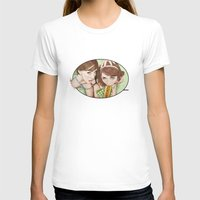 girls T-shirts featuring Life's a Picnic, Bring Your Friend by keith p. rein