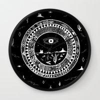 Interstellar Deserts Wall Clock