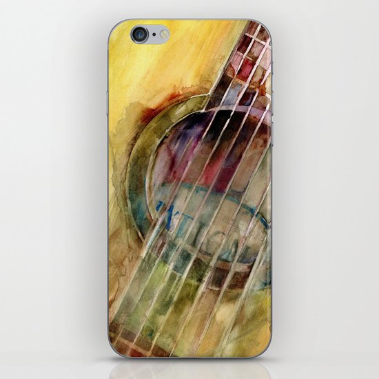 Ovation Acoustic Guitar iPhone & iPod Skin