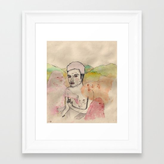Pellizco Framed Art Print