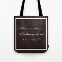 Ambitious Tote Bag