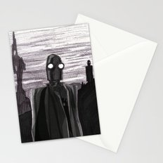 Robot Observer Stationery Cards