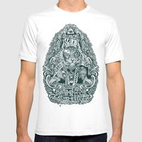 Kill The Tiger Mens Fitted Tee White SMALL