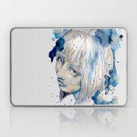 Nieves watercolor portrait by carographic Laptop & iPad Skin