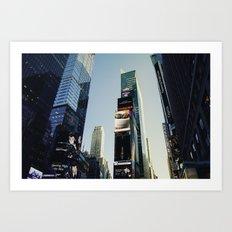 Times Square. Art Print