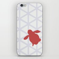 Triangle vs. Turtle iPhone & iPod Skin