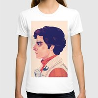 Poe Womens Fitted Tee White SMALL