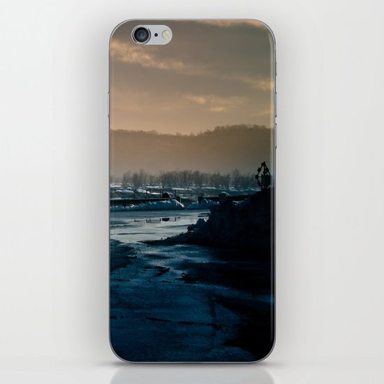 winterscape iPhone & iPod Skin