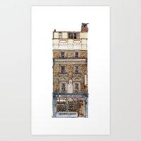 Campkins, Kings Parade, Cambridge, UK Art Print