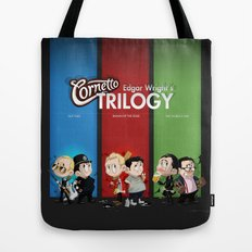 The Three Sweetest Flavours Tote Bag