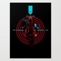 Tron Art Print