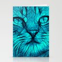 Feral cat Stationery Cards
