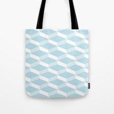 3D Baby blue Tote Bag