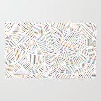 Abstraction Linear Rainb… Rug