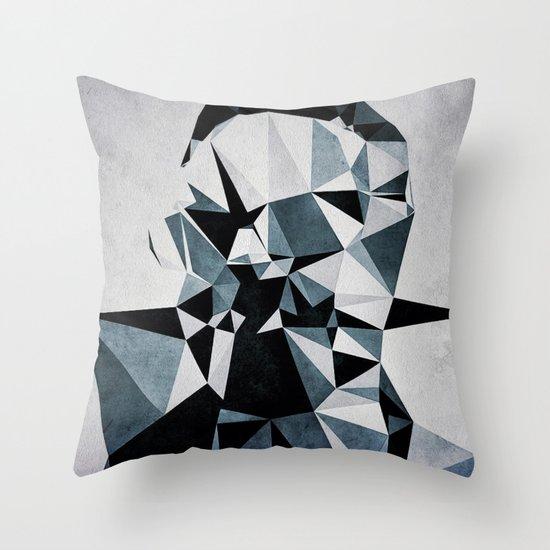 pyly fyce Throw Pillow