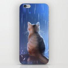 under rainy days like these iPhone & iPod Skin