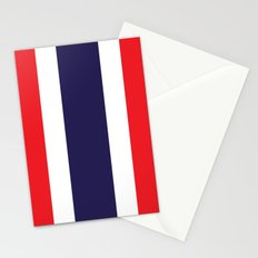 flag of thailand Stationery Cards
