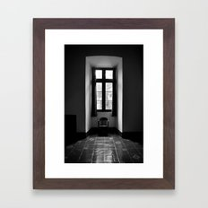 In Shadow Framed Art Print