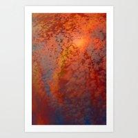 RED SKY - 028 Art Print