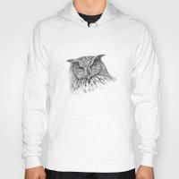 Owl (G2-011)  bubo bubo  Hoody