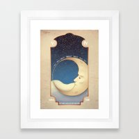 ...In My Moon Framed Art Print