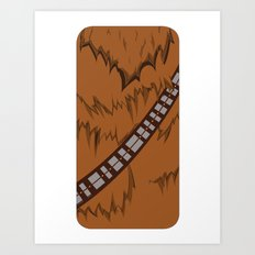 Chewbacca iPhone Case Art Print