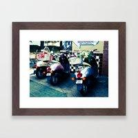 Classy Rides Framed Art Print