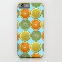 iPhone & iPod Case featuring Lemons, Limes, Oranges, Oh my!  Citrus Photography by ginaphoto